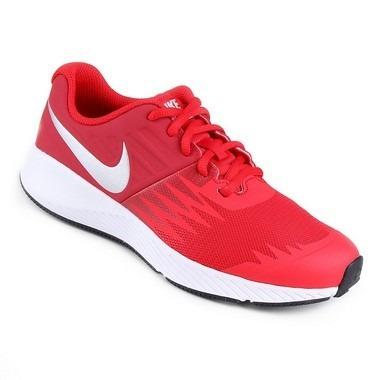3d540e059 Tênis Infantil Nike Star Runner Gs - Vermelho - R$ 249,00 em Mercado ...