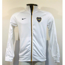 Campera Em Nike Boca Juniors Blanca Abrigo Unicas 2012