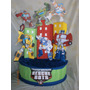 Piñata Rescue Bots, Avengers, Superman, Batman, Spiderman