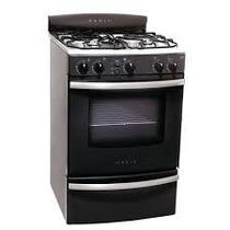 Cocina Gris Acero 4hornallas Orbis 958gpom