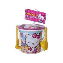 Conjunto Balde De Praia Hello Kitty - Rosita