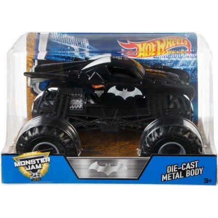 Hot Wheels Batman Monster Jam 1 24 2018 Carro Juguete 500 00 En