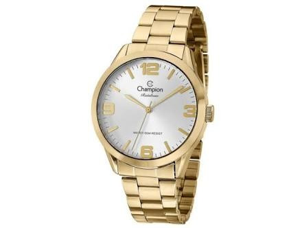 38b4b6dd84c Relógio Dourado Rainbow Cn29892m - Champion Relógios - R  169