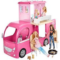Mega Trailer Barbie Family Mattel
