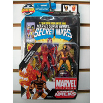 Antorcha Humana Y Wolverine 4 Fantasticos X-men Universe
