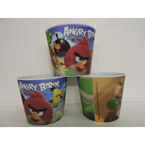Dulceros Angry Birds Fiestas Palomeros 10 Pz Plastico Recuer