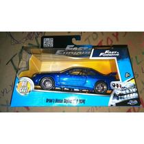 Carro Rapido Y Furioso Nissan Skyline Gtr R34 Azul Lyly Toys