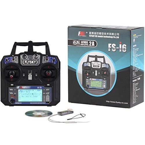 Rcmall Flysky Fs-i6 2.4g 6ch Rc Transmisor Y Receptor Fs-ia6 - $ 311.990 en Mercado Libre