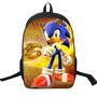 Mochila Sonic Tam 42x29x16 - Pronta Entrega