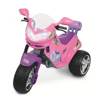 Moto Infatil Elétrica Fada Rosa 1210l Magic Toys