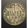 Ale214 Alemania Prussia 1 Silber Groschen 1827 Vf Plata Ayff