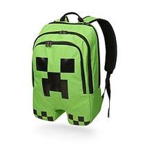 Mochila Escolar Minecraft Creeper Original Oficial Enviogra