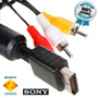 Cabo Av Audio E Video Rca Playstation 1, 2 E 3 Original Sony