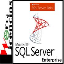 Sql Server 2014 Enterprise Para Windows Server
