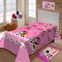 Manta Jolitex Solteiro Soft Microfibra Disney Minnie Gracinh