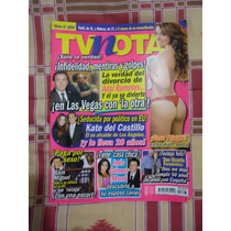 Revista Tv Notas Portada Luis Miguel Poster Vero Pliego