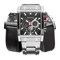 Relógio Technos Os2aaf/1p 41mm Performance Troca Pulseiras