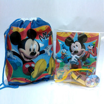 Cotillones Personalizados Infantiles Combo Morral + Relleno