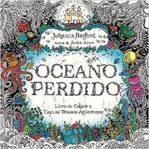 Oceano Perdido Livro Colorir Aventura Submarina Johanna Basf