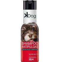 Shampoo Anti Pulgas E Carrapatos Para Cachorros Kdog - 500ml