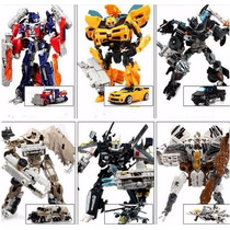 Transformers Optimus Prime Bumblebee Ironhide Megatron C/ Cx