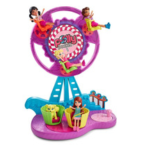Polly-pocket Conjunto Parque Roda Gigante Mattel Cfm25