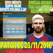 Patch Pes 2017 Ps3 Brasileirão Bundesliga Ligas Atualizadas