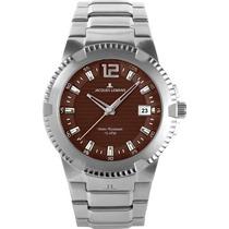 Reloj Jacques Lemans Stainless Steel Powerchrono Brown Feme