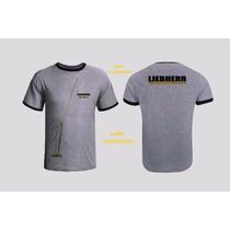 Camisetas Liebherr Ltm1300-6.2 Importada - Guindaste Model