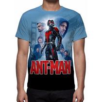 Camisa, Camiseta Filme Ant-man O Homem Formiga - 2015