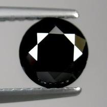Diamante Negro Natural 1,47 Cts Certificado , Envio Gratis