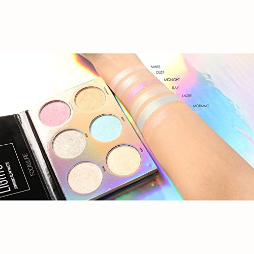 8eb0c175a Kit De Maquillaje De 3 Colores Unicorn Luminous Shimmer Glow - $ 129.900 en  Mercado Libre