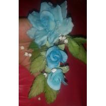 Flores De Porcelana Fría Rosas