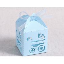 Caja Souvenir Nacimiento Y Baby Shower Cochecito Bebe