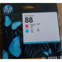 Cabeça Impressão Hp 88 C9382a Magenta/ciano Original
