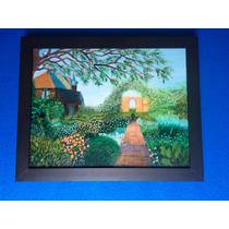 Pintura Colores De Primavera Óleo S/madera Artista Beny Roa