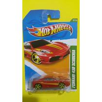 Hot Wheels Ferrari 430 Scuderia. Lacrado Na Cartela. 1.64.