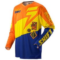Remera Jersey Motocross Shift Faction Slate