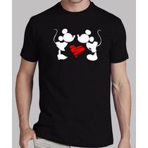 Playera Mickey And Minnie Mouse Envío Gratis En El Df