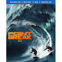 Point Break - Punto De Quiebre - Bluray 3d + 2d + Dvd Usa