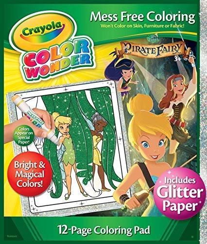 Crayola Color Wonder Glitter Hadas De Papel - $ 53.599 en Mercado Libre