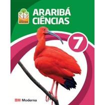 Projeto Araribá Ciências 7 Ano + Guia De Estudo -livro Aluno