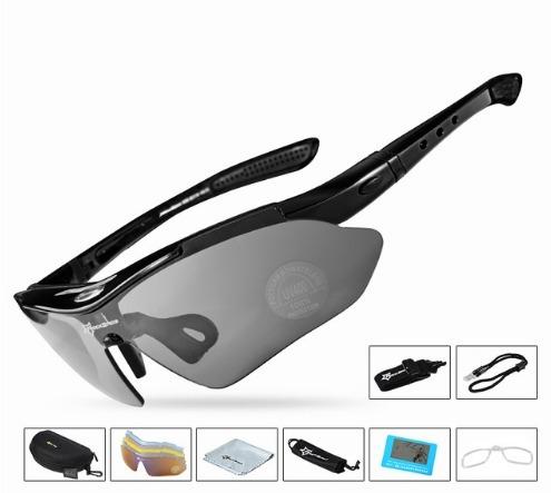 Óculos Rockbros Polarizado 5 Lentes Bike Bicicleta Ciclismo - R  96,00 em  Mercado Livre 8948bea35d