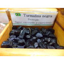 Pedra Do Signo Capricórnio - Turmalina Natural Bruta / 1cm
