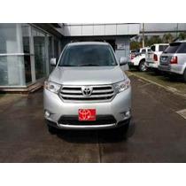 Toyota Highlander 2012 5p Base Premium Aut A/a R-17