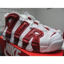 Nike More Uptempo Pippen Chicago Kobe Lebron Jordan Curry