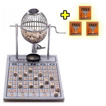 Bingo Profissional Completo Globo Nº 1 + 300 Cartelas Grátis