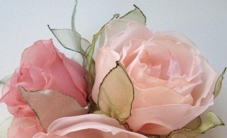 Adornos de flores para vestidos de fiesta