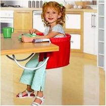 Cadeira Refeição Bebê Portátil Mesa - Com Selo Do Inmetro