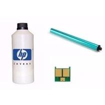 Kit Recarga Toner Hp 35a 36a 78a 85a Refil + Cilindro + Chip